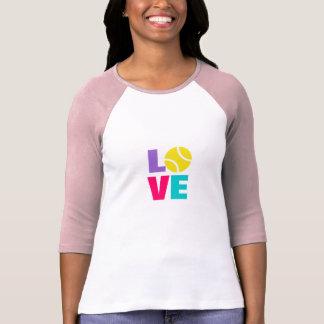 Ladies tennis tee shirt / clothing / top
