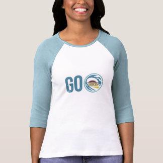 Ladies Three-Quarter Sleeve Raglan (Fitted) T-shirt