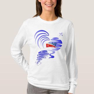 LADIES TIDAL WAVE LONGSLEEVE T-Shirt