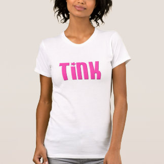 Ladies Tink-Shirt in Blockhead Pink Tee Shirt