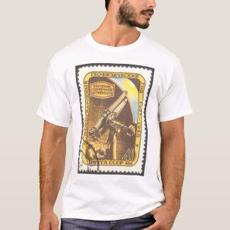 Ladies Tonal Stripe Astronomy T-Shirt