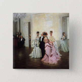 Ladies Too Early to the Party Pinback Button
