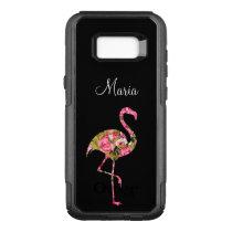 Ladies Tropical Flamingo OtterBox Commuter Samsung Galaxy S8  Case