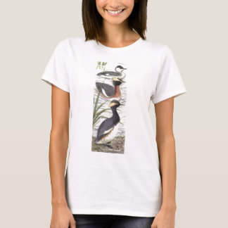 ladies tufted grebe t-shirt
