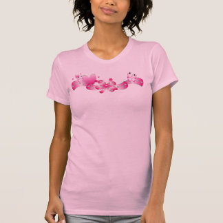 Ladies Twofer Sheer (Fitted)A vintage mock-layered T-Shirt