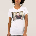 Ladies Twofer Shirt with Image