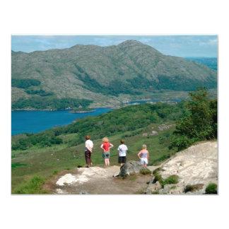 Ladies View Killarney National Park 4.25x5.5 Paper Invitation Card