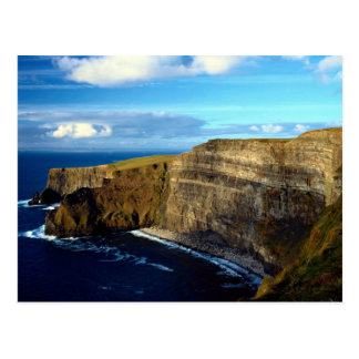 Ladies View, The Cliffs of Moher, County Clare, Ir Postcard