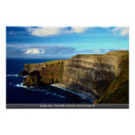 Ladies View, The Cliffs of Moher, County Clare, Ir Posters
