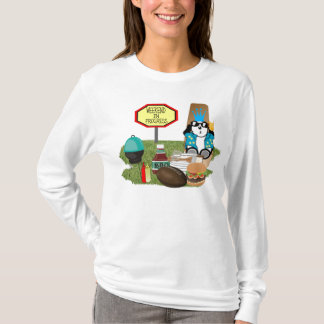 LADIES WEEKEND IN PROGRESS fitted LONG SLEEVE T-Shirt