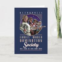 Ladies' World Domination Society Card