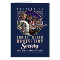 Ladies' World Domination Society Card