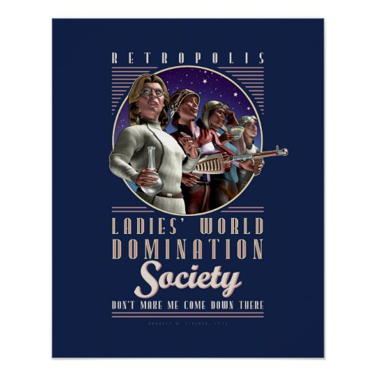 World domination poster