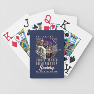 Ladies' World Domination SocietyPlaying Cards Bicycle Playing Cards