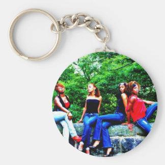 Ladii Diva Team Keychain