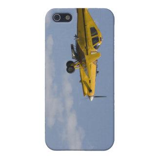 lado amarillo del plumero de la cosecha iPhone 5 coberturas