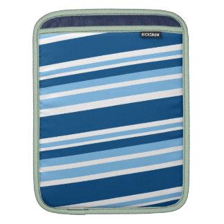 lado azul stripes.png de la hiedra funda para iPads
