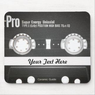 lado b de la cinta de la mezcla del vintage 80s alfombrilla de raton