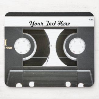 lado b de la cinta de la mezcla del vintage 80s alfombrillas de ratón