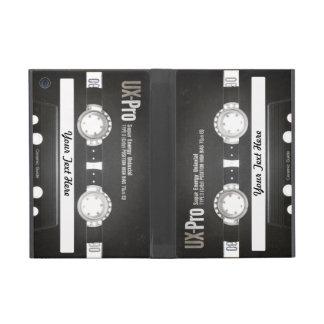 lado b de la cinta de la mezcla del vintage 80s iPad mini coberturas