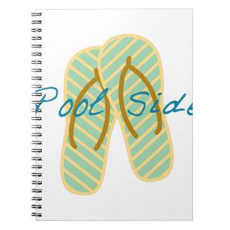 Lado de la piscina notebook