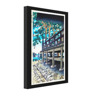 Lado de mar oriental fresco de Shiro Kasamatsu del Lienzo Envuelto Para Galerías