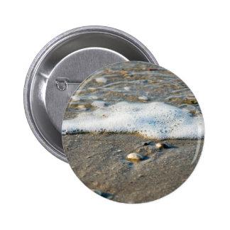 Lado de mar pin redondo de 2 pulgadas