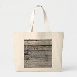 Lado de un granero bolsa tela grande