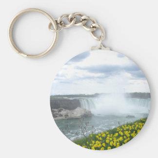 Lado del canadiense de Niagara Falls Llaveros Personalizados