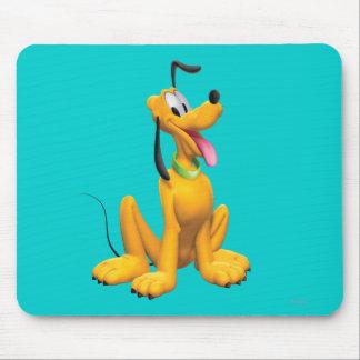Lado del dibujo animado de Plutón el | Mousepad