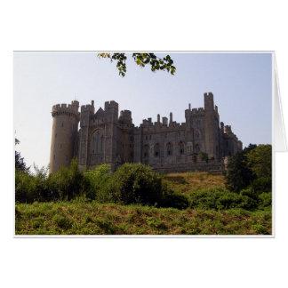 Lado del este del castillo tarjeta de felicitación