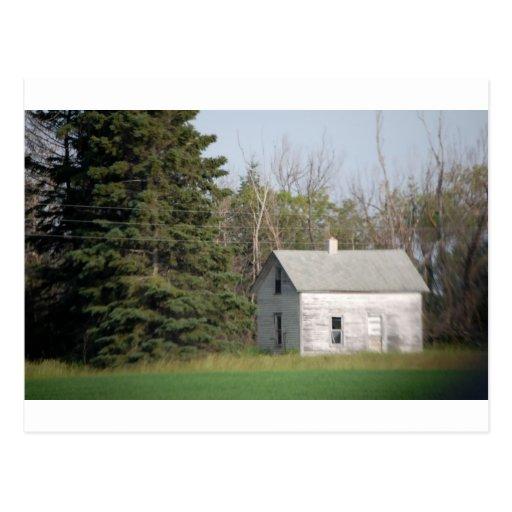 Lado del país de Amish Tarjeta Postal