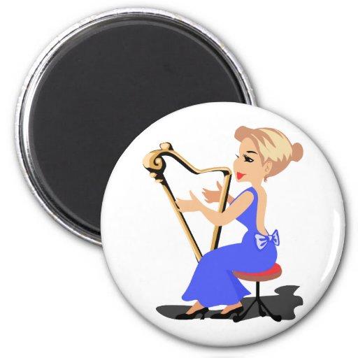 lado femenino blue.png del jugador de la arpa imanes