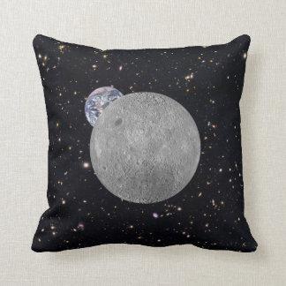 Lado lejano del cielo estrellado de la tierra de almohadas