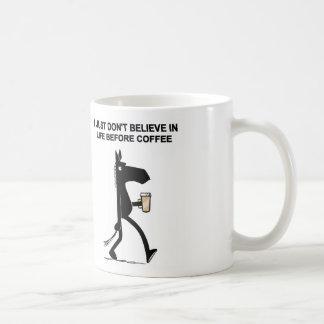 Lado oscuro de la taza de café del caballo 2