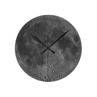 Lado oscuro del reloj de la luna