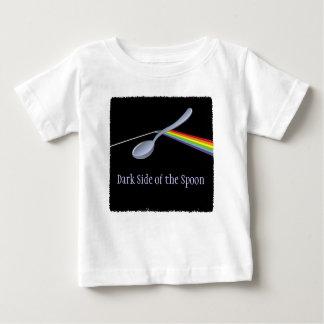 Lado oscuro divertido de la camiseta del niño de playeras