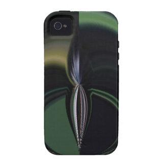 Lado positivo femenino de la aurora de los regalos iPhone 4/4S carcasas