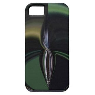 Lado positivo femenino de la aurora de los regalos iPhone 5 Case-Mate carcasas