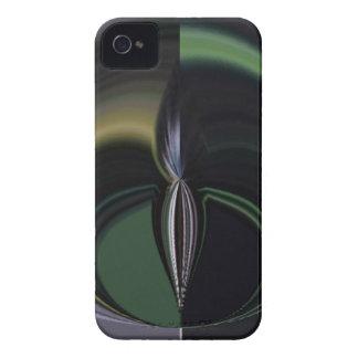 Lado positivo femenino de la aurora de los regalos Case-Mate iPhone 4 carcasas