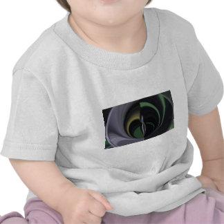Lado positivo femenino de la aurora de los regalos camiseta