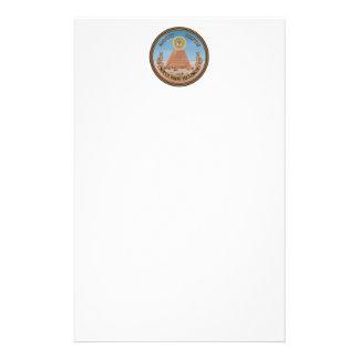 Lado (reverso) del anverso del gran sello de los papeleria de diseño