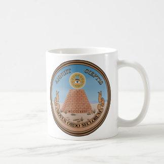 Lado (reverso) del anverso del gran sello de los taza clásica