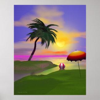 Lado soleado póster
