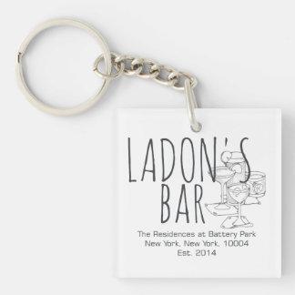 Ladon's Bar Keychain
