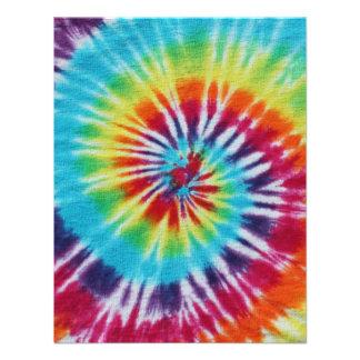 Lados del espiral 2 del arco iris invitación