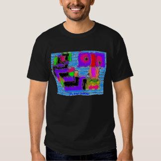 Ladrillo abstracto remeras