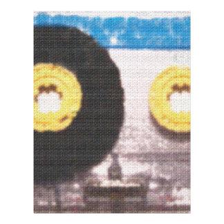 Ladrillo de la cinta de casete membrete personalizado