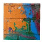 Ladrillo de la pintada azulejos ceramicos