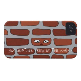 Ladrillo en la pared iPhone 4 Case-Mate coberturas